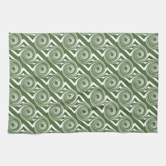 Give It a Whirl II Graphic Dish Towel