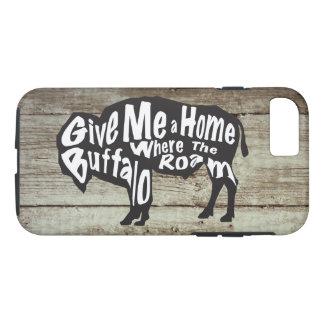 Give Me a Home Where Buffalo Roam iPhone Case