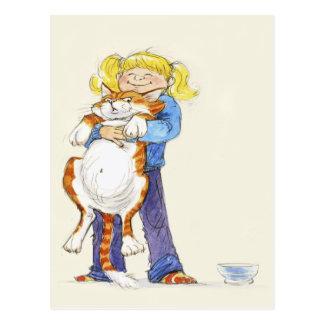 'Give me a Hug!' Postcard