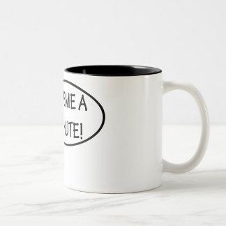 Give me a minute! Two-Tone coffee mug