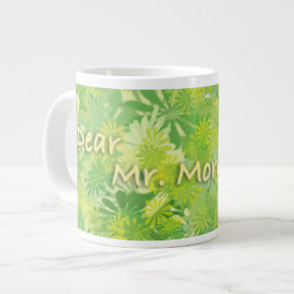 Give me a morning kiss large coffee mug