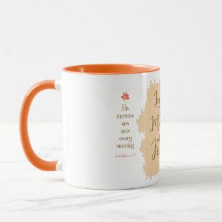 """Give Me Jesus"" 11 oz Combo Mug (Orange)"
