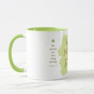 """""""Give Me Jesus"""" 11oz Combo Mug (Lime)"""