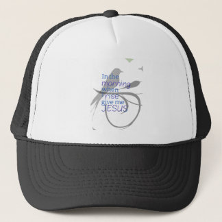 Give Me Jesus Praise and Worship Design Trucker Hat