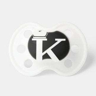 GIVE ME to K logo Pacifier