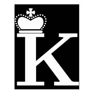 GIVE ME to K logo Postcard