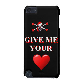 Give me your heart pirate clown iPod touch (5th generation) covers