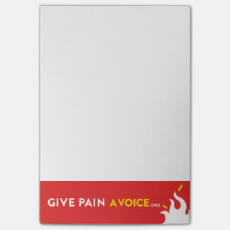 Give Pain A Voice Post-it Notes