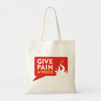 Give Pain A Voice Tote Bag