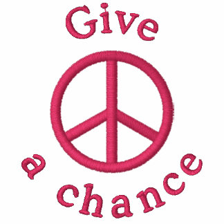 Give Peace A Chance Hoody