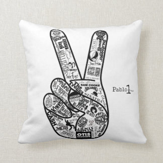 Give peace a chance Pillow