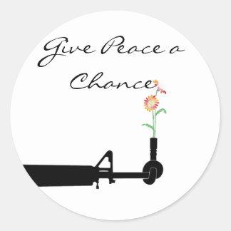 Give Peace a Chance Sticker
