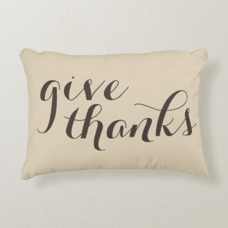 give thanks & be grateful double-sided pillow