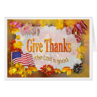 GIve Thanks   ~ Card