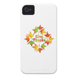 Give Thanks Case-Mate iPhone 4 Cases