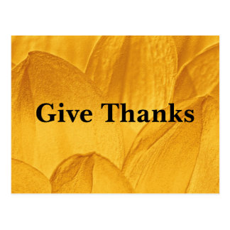 Give thanks for all things Ephesians 5:20 Postcard