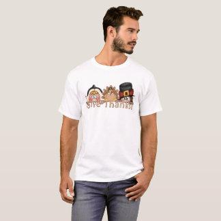 Give Thanks Pilgrims T-shirt