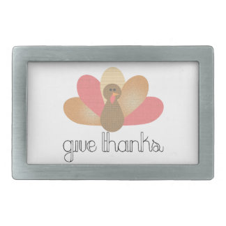 give thanks thanksgiving turkey belt buckle