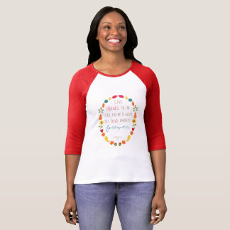 Give thanks to the Lord, Fall Bible Verse Shirt
