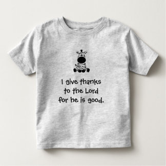 Give Thanks Toddler T-shirt
