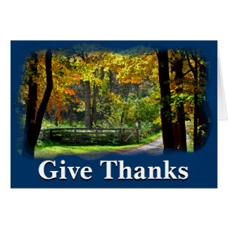 Give thanks unto the Lord 1 Chronicles 16:8 Card