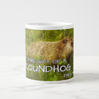 Give the gift of a Groundhog this year mug