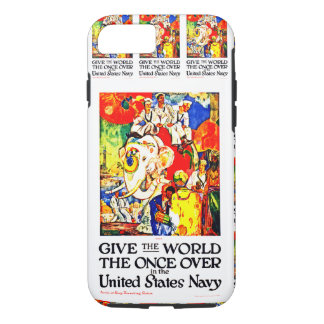 Give The World The Once Over iPhone 8/7 Case