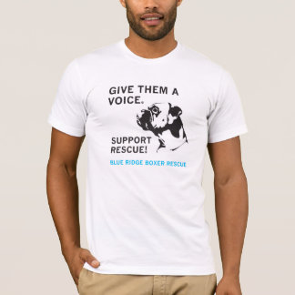 Give them a Voice -- Light shirts