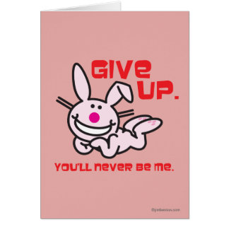 Give Up Card