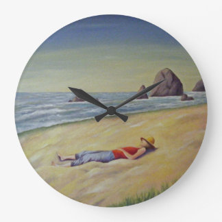 GIVE YOURSELF TO THE SEA, THE SKY LARGE CLOCK