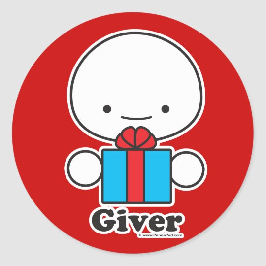 Giver Sticker Sheet (more sizes)