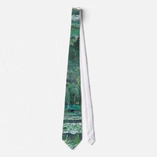 Giverny Bridge Tie