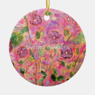 Giverny Gardens Ceramic Ornament