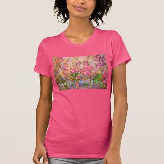 Giverny Hollyhocks T-Shirt