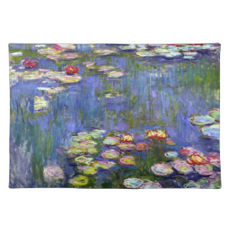 Giverny Water Lily Pond Placemat