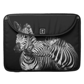 Gives-a-kiss-zebras Sleeve For MacBook Pro