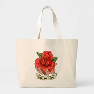 Giving Hope Large Tote Bag