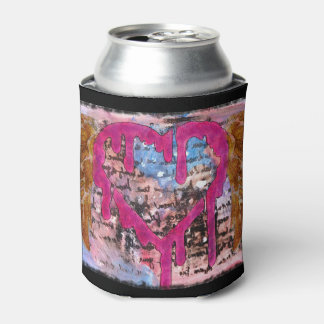 Giving Your Heart Wings Mixed Media Can Cooler