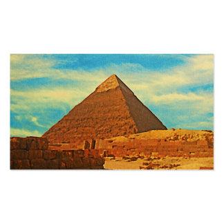 Giza Pyramid Cairo Egypt Business Card