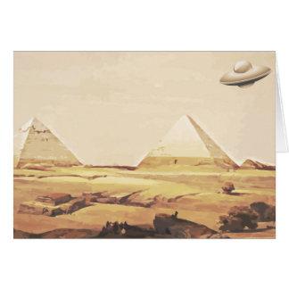 Giza Spaceship Card