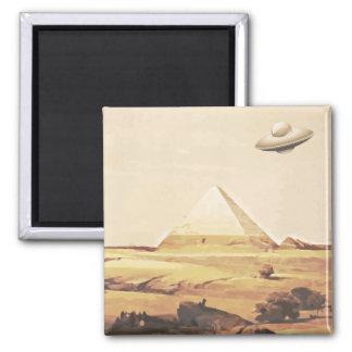 Giza Spaceship Magnet