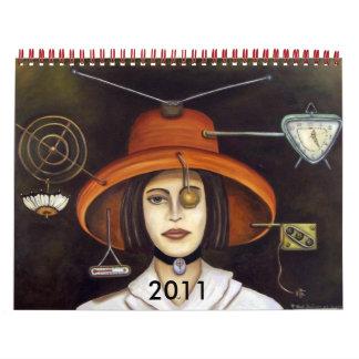Gizmo #2, 2011 Calendar