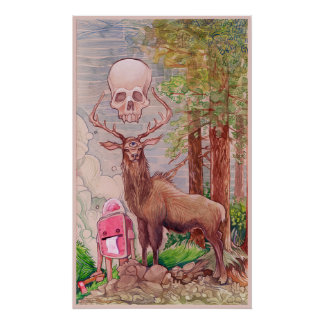 gizmo and the death elk poster