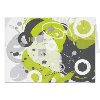 Gizmo - Retro-Modern Abstract Card