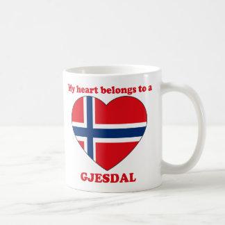 Gjesdal Classic White Coffee Mug
