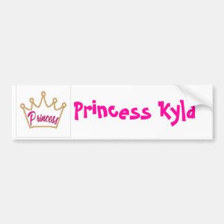 GL01-Princess[1], Princess Kyla Bumper Sticker
