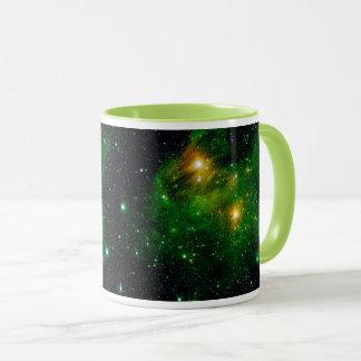 GL490 Green Gas Cloud Nebula - NASA Space Photo Mug