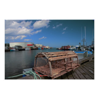 Glace Bay Harbor Poster