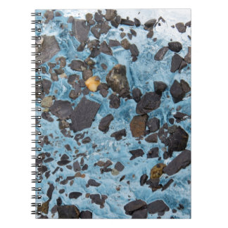 Glacial Ice with a Speck of Gold - Glacier Notebooks