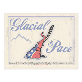 Glacial Pace Committee Postcard